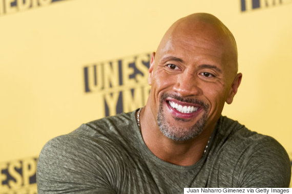 MADRID, SPAIN - JUNE 07: Dwayne Johnson attends 'Un Espia Y Medio' (Central Intelligence) photocall at Villamagna Hotel on June 7, 2016 in Madrid, Spain. (Photo by Juan Naharro Gimenez/WireImage)