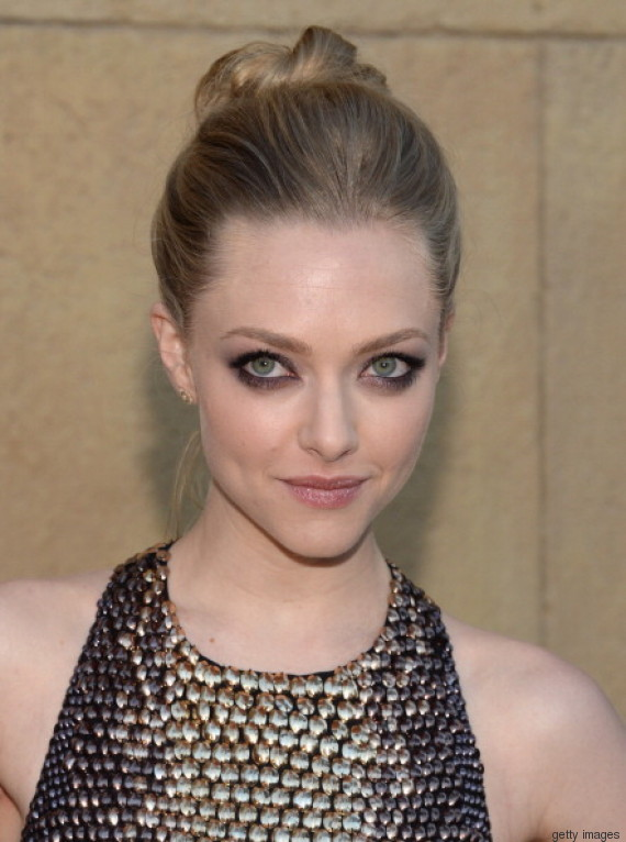 "HOLLYWOOD, CA - AUGUST 05: Actress Amanda Seyfried attends the premiere Of RADiUS-TWC's ""Lovelace"" at the Egyptian Theatre on August 5, 2013 in Hollywood, California. (Photo by Jason Kempin/Getty Images)"